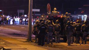 Missouri USA poliisi mellakat.