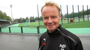 RoPSin valmentaja Juha Malinen