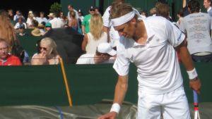 Jarkko Nieminen Wimbledonissa 2014