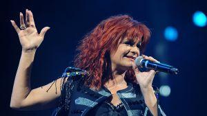 Saksalainen laulajatar Andrea Berg.