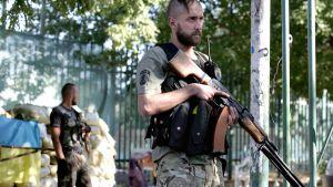Ukrainan sotilaita.