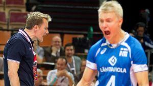 Tuomas Sammelvuo ja Lauri Kerminen MM-kisoissa 2014