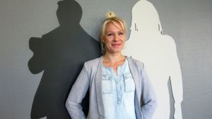 Kokkolan kaupunginteatterin teatterinjohtaja Sini Pesonen.