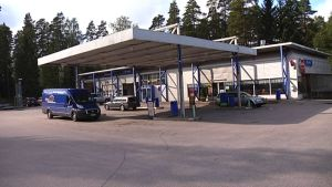 Huoltoasemalla ei enää myydä polttoainetta.