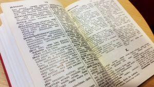 Englannin sanakirja