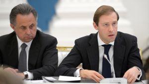 Venäjän kauppaministeri Denis Manturov.