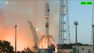 Sentinel-satelliittin laukaisu Ranskan Guayanasta