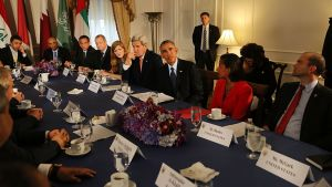 Obama Kerry Syyria neuvottelut.