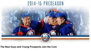 Kuvakaappaus NY Islandersin nettisivuilta