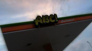 ABC-huoltoaseman tankkauskatos