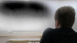 Koulukiusattua Samuli Saarista alettiin nimitellä kouluampujaksi Jokelan ja Kauhajoen kouluampumisten jälkeen.