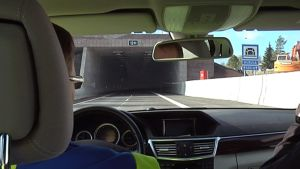 Husulan tunneli on osa E18-moottooritien Haminan ohitustietä