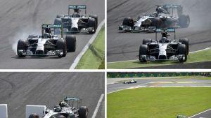 F1-autoja kuvissa