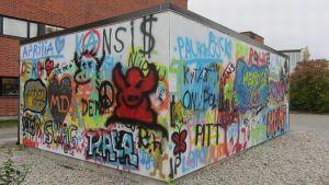 Kemin graffitiseinä 7.10.14