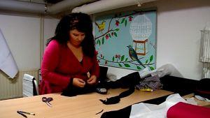 Vaatealan yrittäjä Johanna Harju pysäytti oman oravanpyöränsä.
