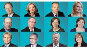 Kymen vaalipiirin kansanedustajat.