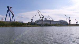 STX Finland Turun telakka.