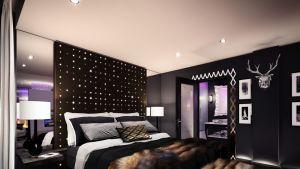 Arctic Light -hotelli hotellihuone
