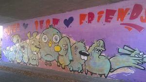 Graffititunneli Jyväskylässä