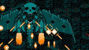 Yksityiskohta Final Boss -avaruusseikkailupelistä