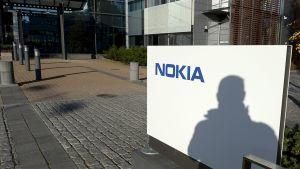 Nokian pääkonttori Karamalmilla Espoossa 22. lokakuuta 2014.