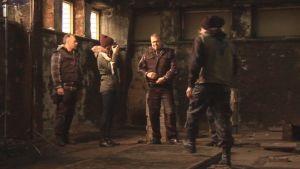 Rendel-elokuvan teaseria kuvataan Savonlinnassa.