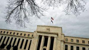 Yhdysvaltain keskuspankin Fedin päärakennus Washington DC:ssä.