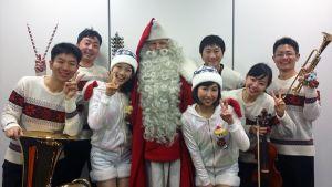 Joulupukki Kiinassa