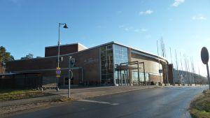Oulun Raksilan uimahalli.