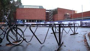 Jyväskylän yliopiston päärakennus on remontissa.