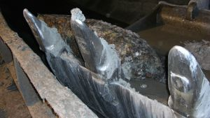 Tornionjoen pohjasta löytyi ruoppausten yhteydessä ilmeisesti vanha sota-aikainen lentopommi.
