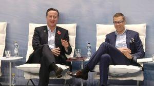 David Cameron ja Alexander Stubb.
