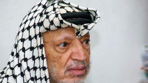 Syyskuussa 2004 otettu valokuva edesmenneestä palestiinalaispresidentti Jasser Arafatista.