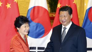 Park Geun-hye ja Xi Jinping