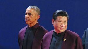 Barack Obama ja  Xi Jinping