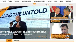 sputnikin nettisivu