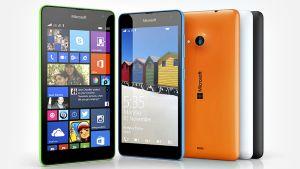 Microsoftin Lumia 535 -puhelin.