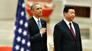 Barack Obama ja Xi Jinping.