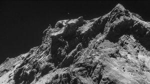 Kuva komeetan pinnasta