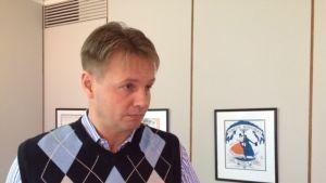 UPM Tuotantojohtaja Antti Hermonen