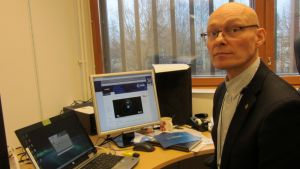 Environics Oy:n teknologiaosaston johtaja Osmo Anttalainen.