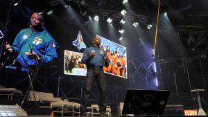 Slush-tapahtumassa puhunut astronautti Leland Melvin