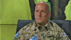 Prikaatikenraali Mauri Koskela.