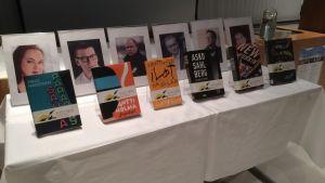 Savonia-kirjallisuuspalkinnon ehdokaskirjat