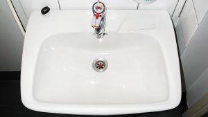 WC:n lavuaari.