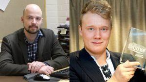 Eanodaga gielddahoavda Mikko Kärnä ja BB-Andte