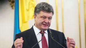 Ukrainan presidentti Petro Porošenko