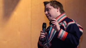 Tuomas Aslak Juuso Eurohpa ráđi semináras 2014.