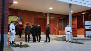 Talvisodan aikaista eduskunnan evakkomatkaa Kauhajoelle juhlittiiin maanantaina. Eduskunta kokoontuu juhlatilaisuuteen.