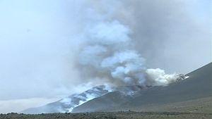 Kap Verden Fogon saarella purkautuva tulivuori.